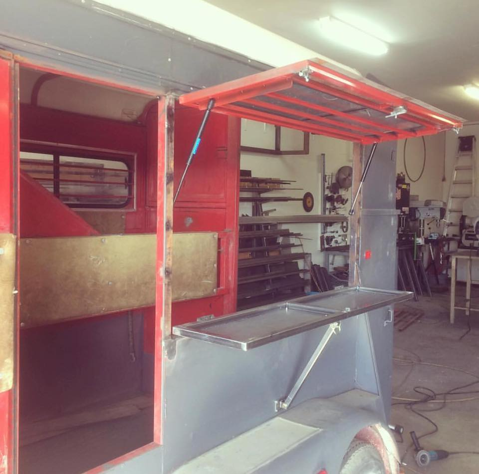 Horse Trailer to Bar Conversion