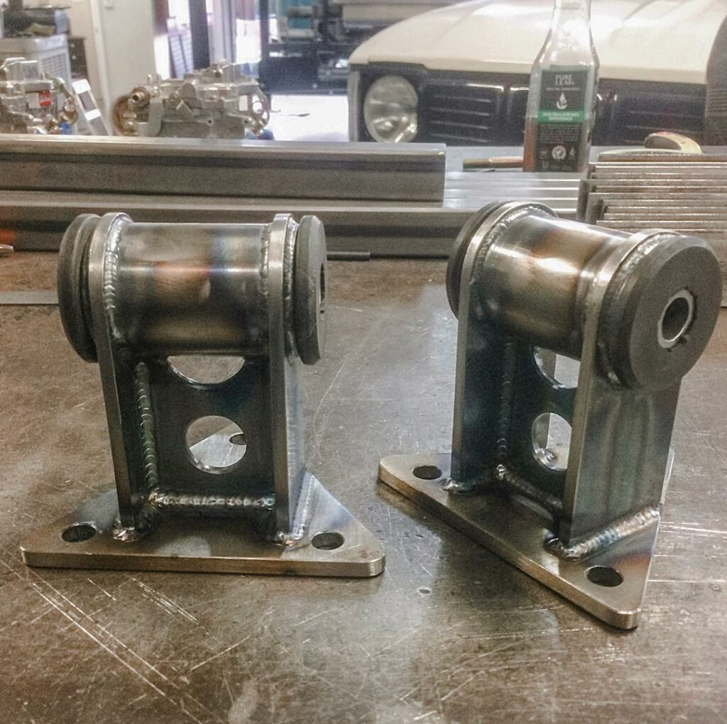 Custom Built Motor Mounts
