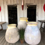fairbrother designs - silver dollar saloon - greek pots