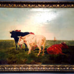 Belgian Landscape with Cows