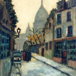 French Post Impressionist - Oil On Canvas