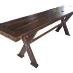 Reclaimed Oak Extra Long Console Table