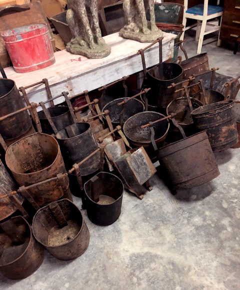 Fairbrother Designs - Portuguese Mining Buckets