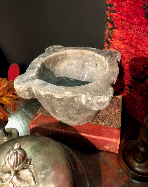 Fairbrother Designs - Antique mortar bowl