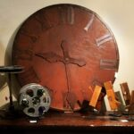 French Iron Clock Face