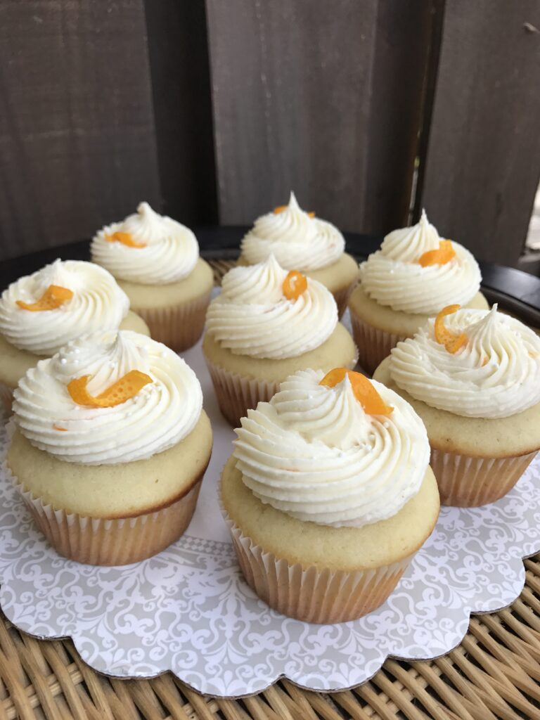 Ginger Orange Cupcakes