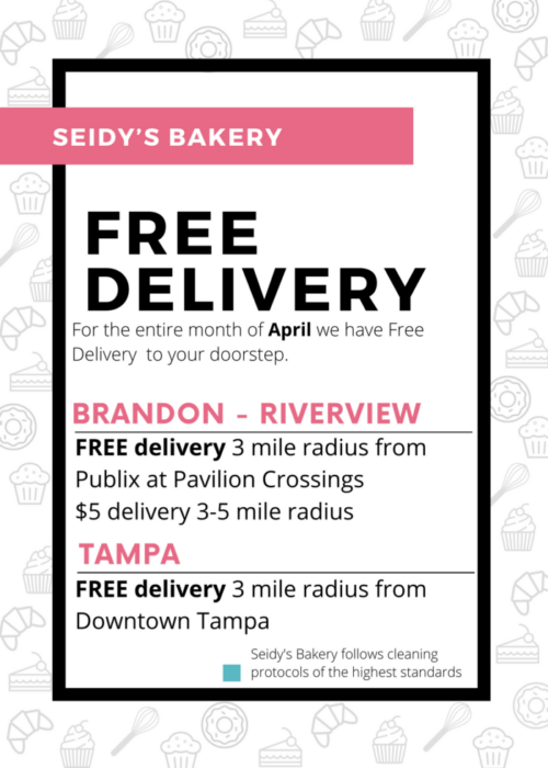 Free Dessert Delivery for the entire month of April