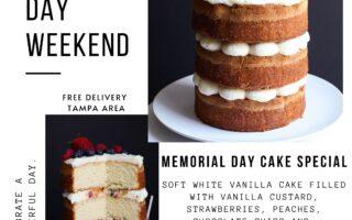 Memorial Day Special Cake