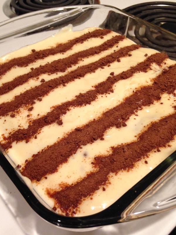 Postre de Milo (Colombian dessert)