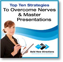 Overcome Nerves & Master Presentations
