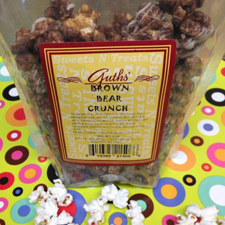 Brown Bear Crunch Popcorn Guths Candy