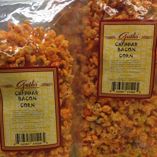 Cheddar Bacon Corn Guths Candy
