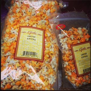 cheese Lovers Popcorn Guth's Candy