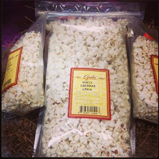 white Cheddar PopCorn Guths' Candy