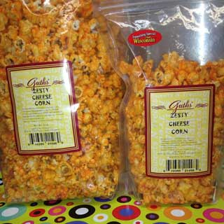 Zesty Cheese Corn Guths Candy