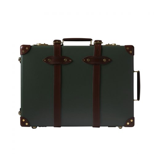 Globe-Trotter - Centenary Green & Brown