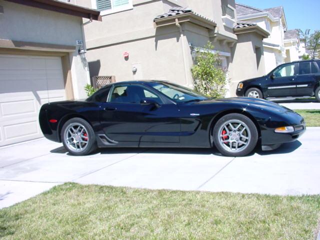 Ted Cahall 2001 Z06 Corvette