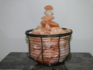 Salt Crystal Basket