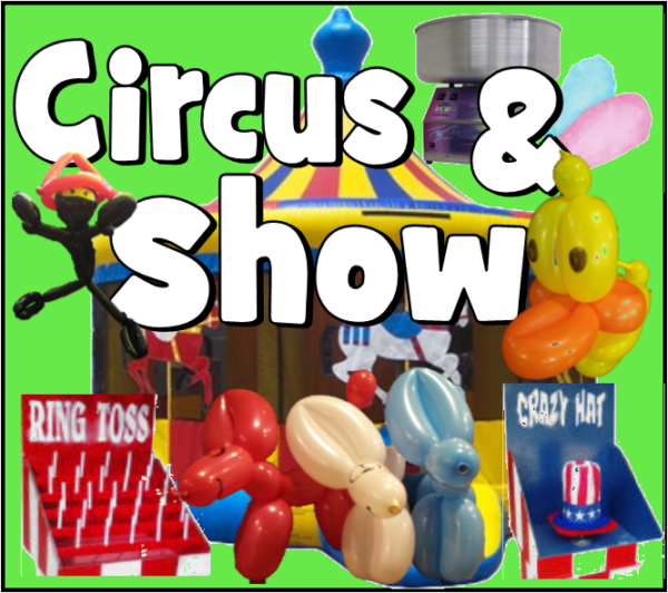 Circus and Show party package