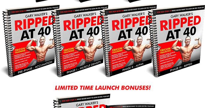 Ripped At 40 For Men Review – rippedat40formen.com a Scam?