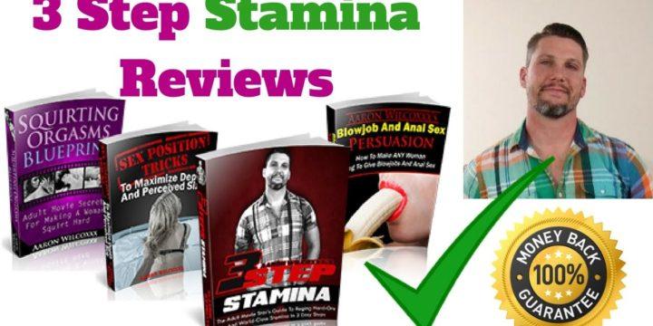 3 Step Stamina Review – 3stepstamina.com a Scam?