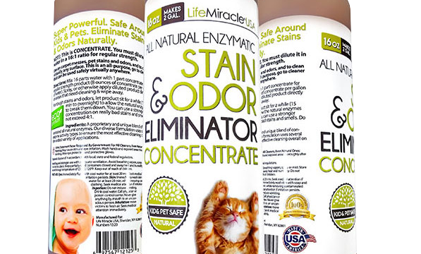 All Natural Enzymatic Stain and Odor Eliminator Concentrate Review – a Scam?