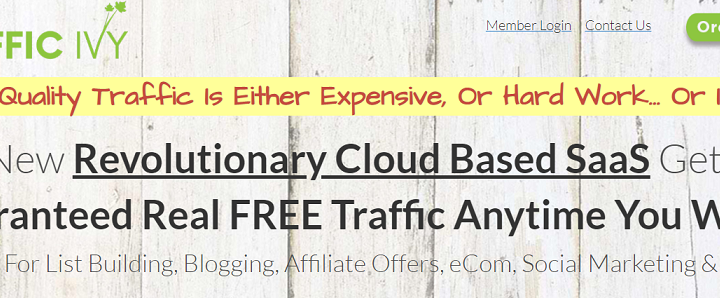 Traffic Ivy Review – trafficivy.com a Scam?