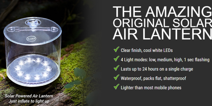Solar Air Latern Review – Survival Frog's Latern Works?