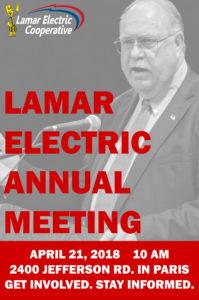 Annual Meeting April 21