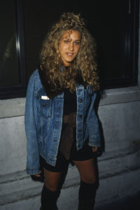 A nostalgic look at the young Sarah Jessica back in the late eighties sporting a denim jacket.