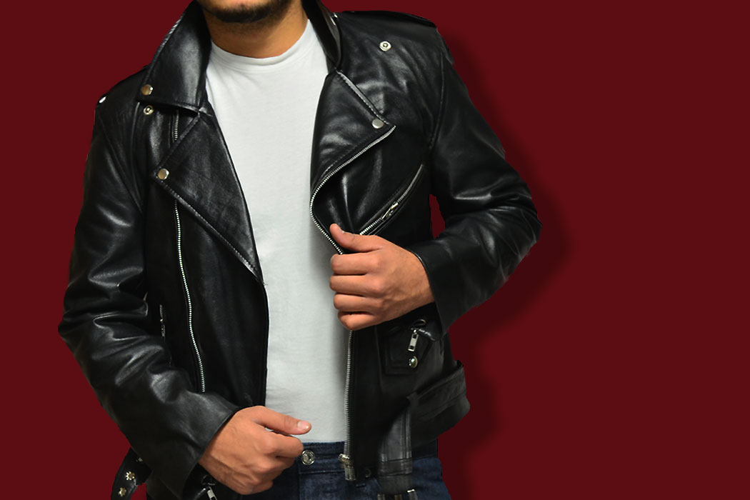 leather jacket by the jacket maker