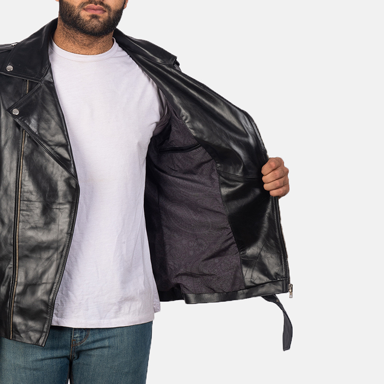inner lining of leather jacket
