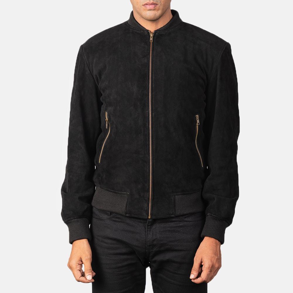 Black-suede-jacket