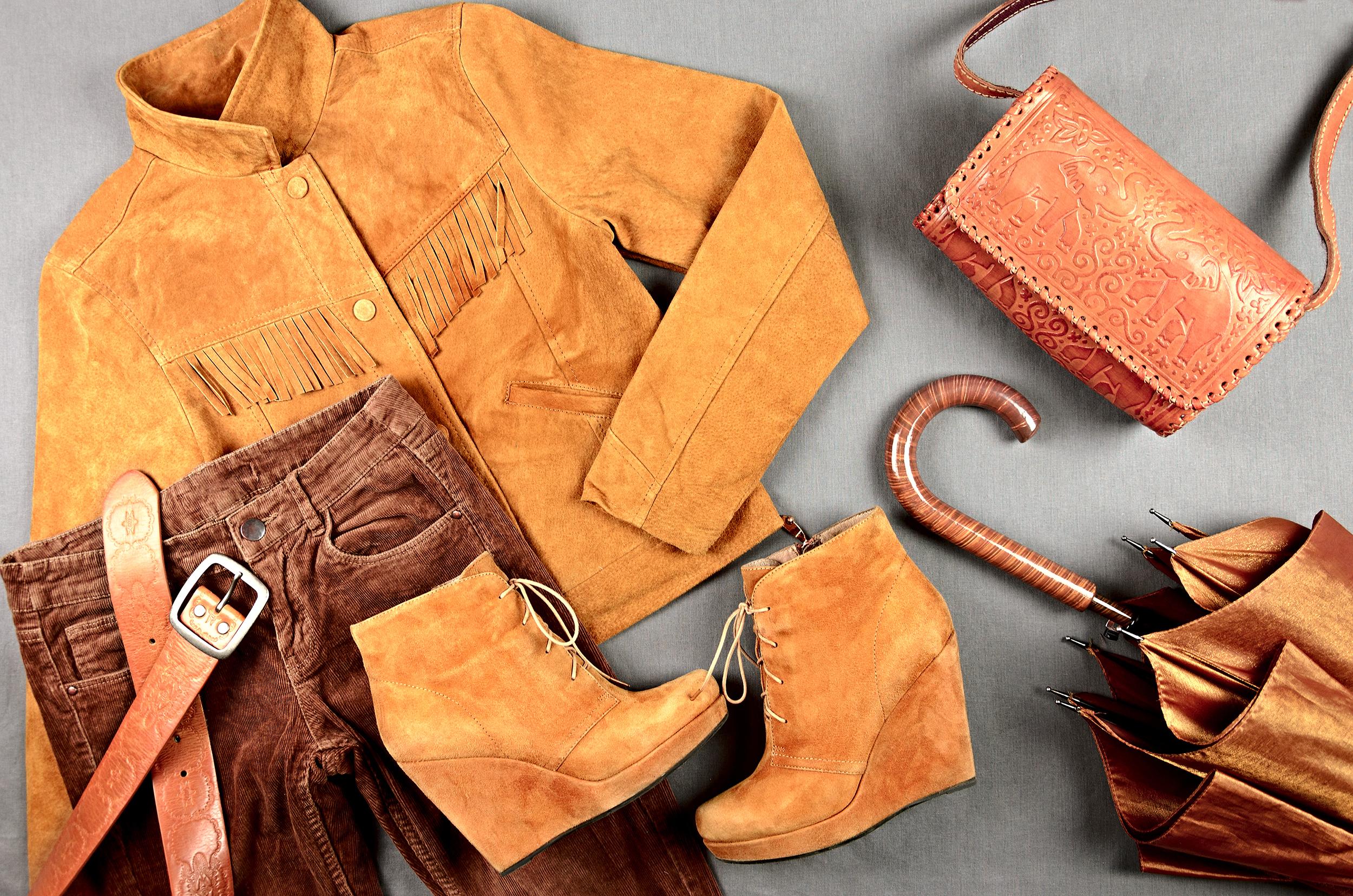 suede clothes