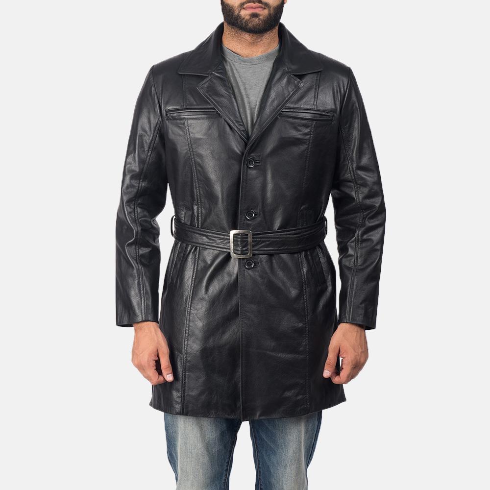 Jordan-Black-Leather-Trench-Coat