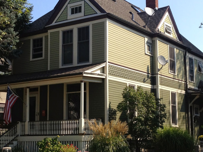 Historical house painting Oak Park