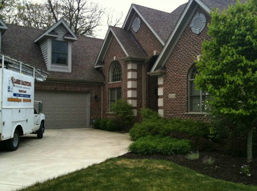 exterior brick house trim service