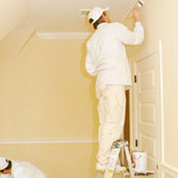 painter interior, beige