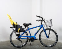 Men's multi-speed bike w/ Baby Seat