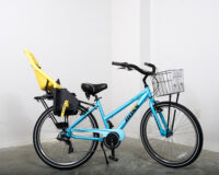 Ladies' multi-speed bike w/ baby seat