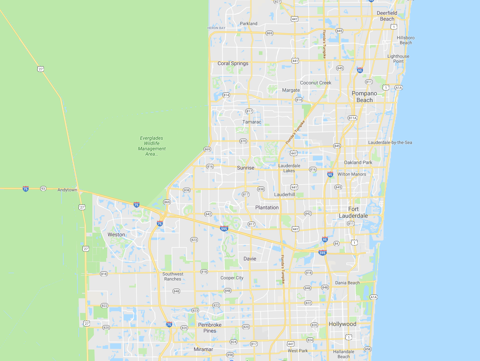 Select your location on the map