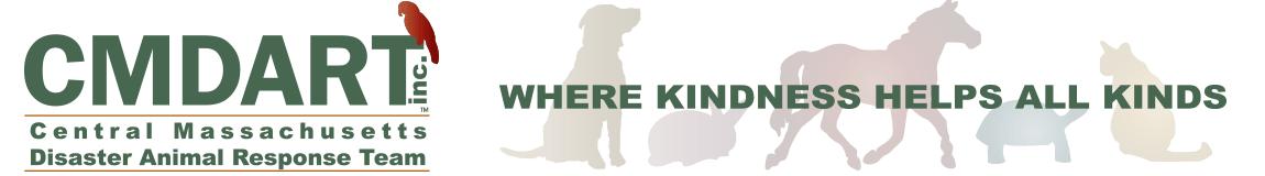 CMDART – Central Massachusestts Disaster Animal Response Team