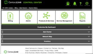 CenturyLink Control Center Upgraded