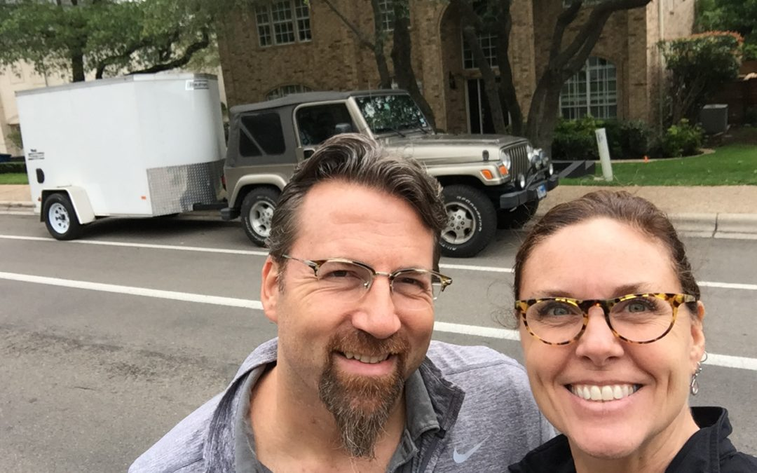 Day 1 of our journey – Leaving Austin