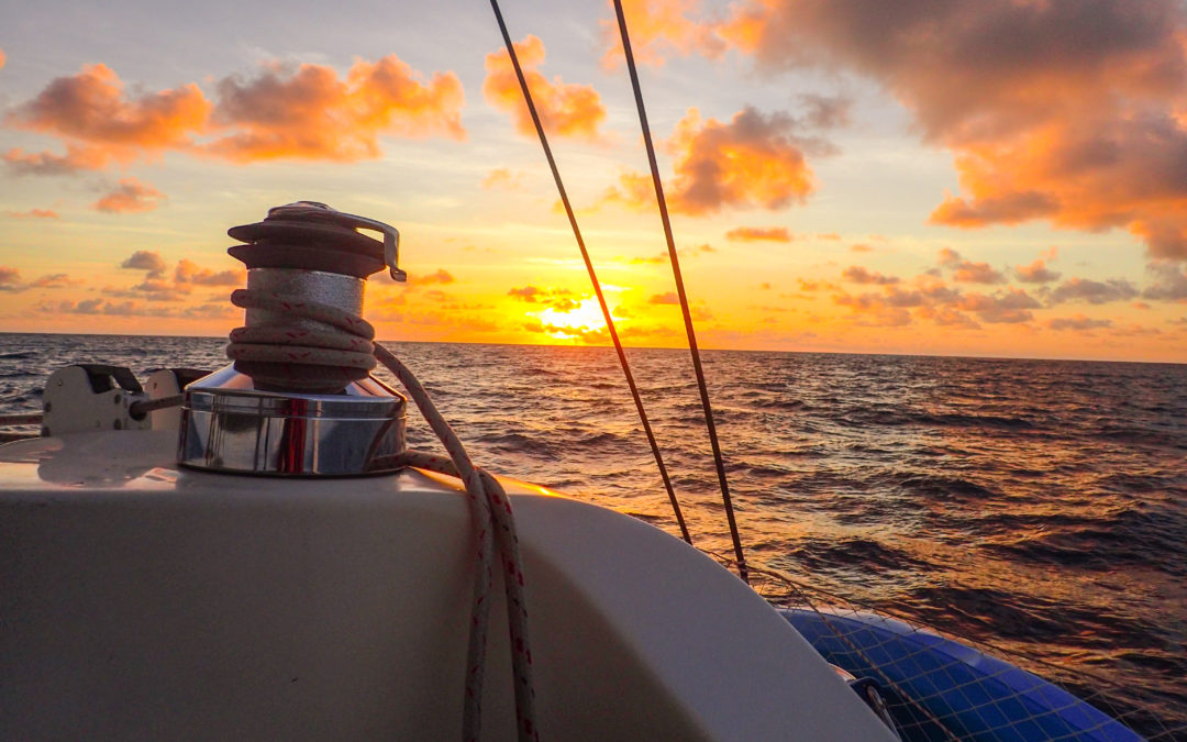 Sailing from Isla Mujeres, Mexico to Key West USA