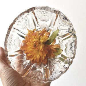 flower preservation | ring dish
