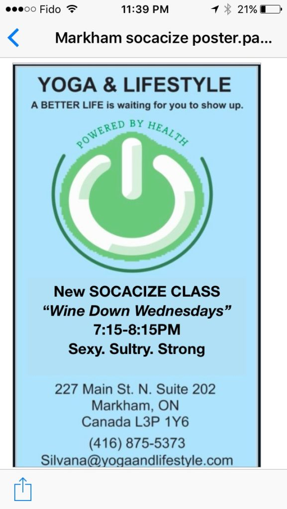 Socacize Wednesdays
