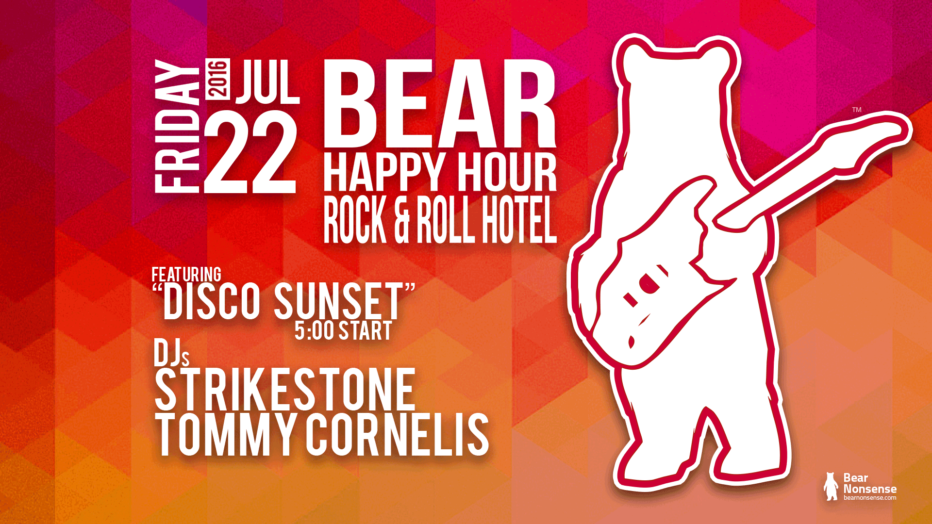 BHH Washington DC Bear Happy Hour