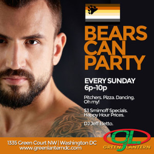 BEARS CAN PARTY!