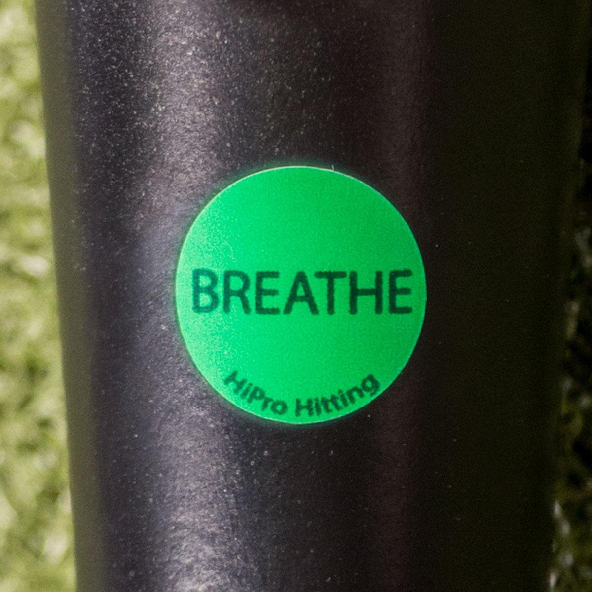HiPro Hitting- Breathe Decal
